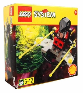 LEGO System Set #2543 Shell Promo Alien with Spaceship Box shows minor shelf-wear