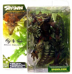 McFarlane Toys Spawn Series 21 Alternate Realities Alien Spawn 2