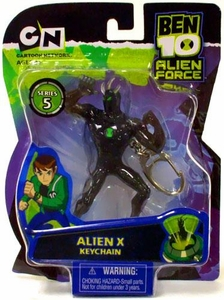 Ben 10 Alien Force Series 5 Keychain Alien X