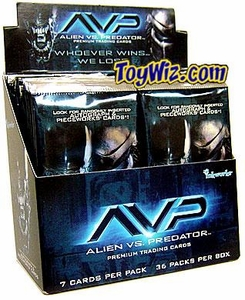 AVP Alien vs. Predator Movie Trading Cards Box