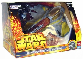 Star Wars Die Cast Model Kit Anakin Skywalker's Jedi Starfighter