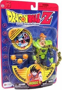 Dragonball Z Series 6 Androids Saga Action Figure Android 16