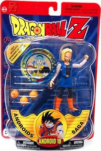 Dragonball Z Series 6 Androids Saga Action Figure Android 18