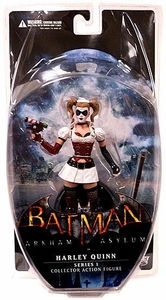 DC Direct Batman Arkham Asylum Series 1 Action Figure Harley Quinn