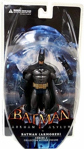 DC Direct Batman Arkham Asylum Series 2 Action Figure Batman [Armored]