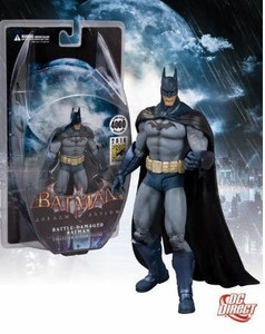 DC Direct 2010 SDCC San Diego Comic-Con Exclusive Batman Arkham Asylum Battle Damaged Batman Only 4,000 Made!