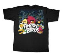 Angry Birds Adult Printed T-Shirt Conflict