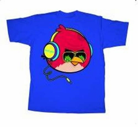 Angry Birds Adult Printed T-Shirt Tough Guy