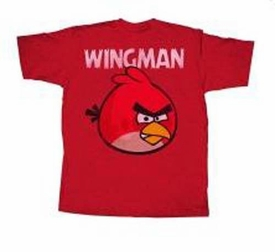 Angry Birds Adult Printed T-Shirt Wingless