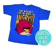 Angry Birds Youth Printed T-Shirt Wouldn't Like Me