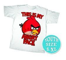 Angry Birds Youth Printed T-Shirt My Angry Face