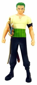 One Piece Bandai 6 Inch Vinyl Semi-Poseable Figure Roronoa Zoro