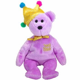 Ty Beanie Baby Exclusive Jokester the Bear