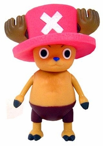 One Piece Bandai 4 Inch Vinyl Semi-Poseable Figure Tony Tony Chopper