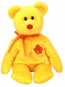 Ty Beanie Baby Asia Pacific Flower Exclusive Bunga Raya the Malaysia Bear