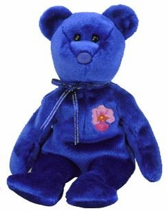 Ty Beanie Baby Asia Pacific Flower Exclusive Vanda the Singapore Bear