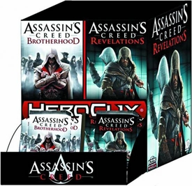 Assassin's Creed Brotherhood & Revelations HeroClix Booster BOX [24 Packs] BLOWOUT SALE!