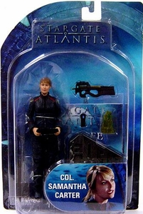 Diamond Select Toys Stargate Atlantis Series 3 Action Figure Col. Samantha Carter
