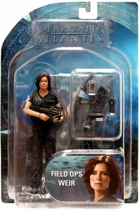 Diamond Select Toys Stargate Atlantis Series 1 Action Figure Field Ops Dr. Weir