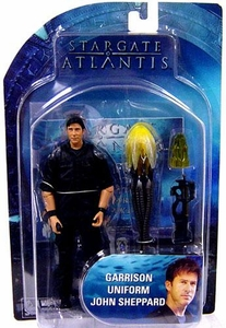 Diamond Select Toys Stargate Atlantis Series 3 Action Figure Garrison Uniform John Sheppard