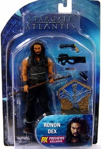 Diamond Select Toys Stargate Atlantis Series 3 Action Figure Ronon Dex