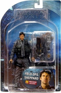 Diamond Select Toys Stargate Atlantis Exclusive Action Figure Field Ops John Sheppard