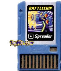 Mega Man Battle Chip #018 Spreader