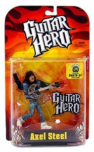 McFarlane Toys Guitar Hero Action Figure Axel Steel [Flame Shirt]