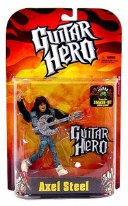 McFarlane Toys Guitar Hero Action Figure Axel Steel [Spawn Shirt]
