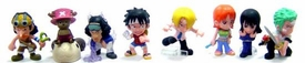 One Piece Bandai Mini PVC Figures Random PVC Figure