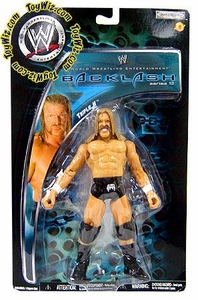 WWE Wrestling Backlash Series 12 Action Figure Triple H