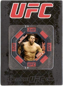 UFC Topps Main Event Exclusive Octagon Poker Chip Ryan Bader