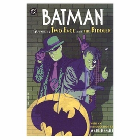 DC Comic Books Batman Batman Featuring Two-Face & The Riddler Trade Paperback