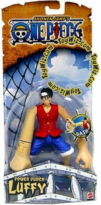 One Piece Mattel Action Figure Power Punch Luffy