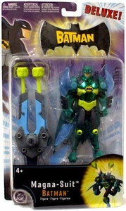 The Batman Animated Deluxe Action Figure Magna-Suit Batman