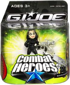 GI Joe The Rise of Cobra Combat Heroes Single Pack Baroness