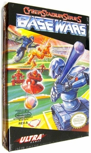 Nintendo Entertainment System NES Factory Sealed Cartridge Game Base Wars