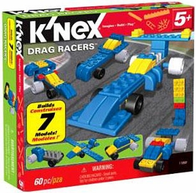 K'NEX Multi-Model Set #11868 Drag Racers