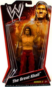 Mattel WWE Wrestling Basic Series 3 Action Figure The Great Khali