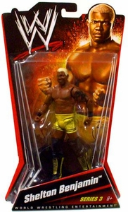Mattel WWE Wrestling Basic Series 3 Action Figure Shelton Benjamin