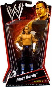 Mattel WWE Wrestling Basic Series 4 Action Figure Matt Hardy