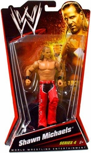 Mattel WWE Wrestling Basic Series 4 Action Figure Shawn Michaels