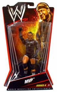Mattel WWE Wrestling Basic Series 4 Action Figure MVP