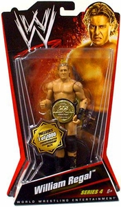 Mattel WWE Wrestling Basic Series 4 Action Figure William Regal[Commemorative Championship Belt]