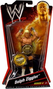 Mattel WWE Wrestling Basic Series 4 Action Figure Dolph Ziggler [Commemorative Championship Belt]