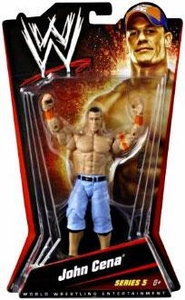 Mattel WWE Wrestling Basic Series 5 Action Figure John Cena BLOWOUT SALE!