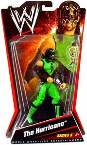 Mattel WWE Wrestling Basic Series 5 Action Figure The Hurricane [Gregory Helms]