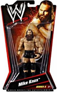 Mattel WWE Wrestling Basic Series 5 Action Figure Mike Knox