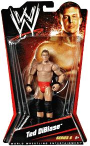 Mattel WWE Wrestling Basic Series 6 Action Figure Ted Dibiase