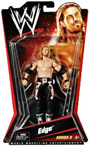 Mattel WWE Wrestling Basic Series 6 Action Figure Edge
